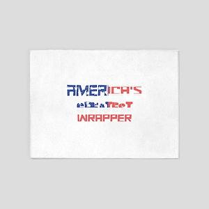 America's Greatest Wrapper 5'x7'Area Rug
