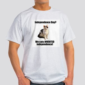 Cats invented independence Light T-Shirt