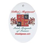 Dillon's Regiment Oval Ornament