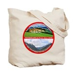 Peace in Switzerland Tote Bag