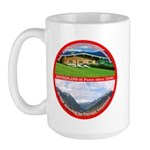 Peace in Switzerland Large Mug