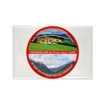Peace in Switzerland Rectangle Magnet (10 pack)