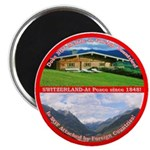 Peace in Switzerland Magnet