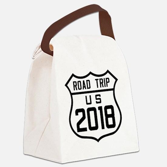 Cute Turnpike Canvas Lunch Bag