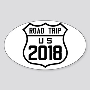 Road Trip US 2018 Sticker