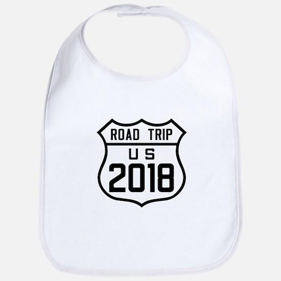 Road Trip US 2018 Baby Bib