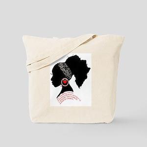 A QUEN BEAUTIFUL STRUGGLE Tote Bag