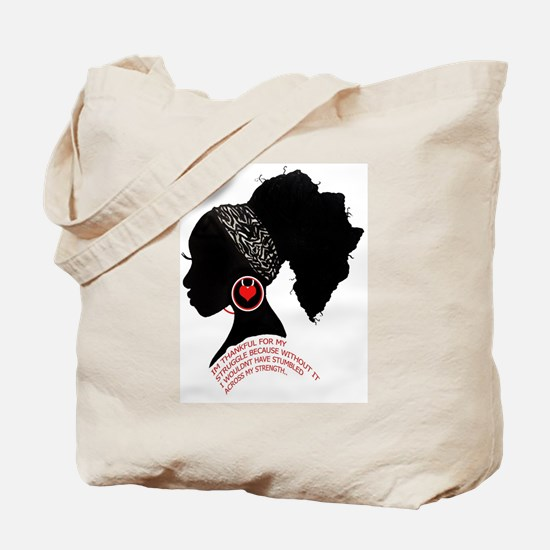 A QUEN BEAUTIFUL STRUGGLE Tote Bag