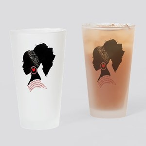 A QUEN BEAUTIFUL STRUGGLE Drinking Glass