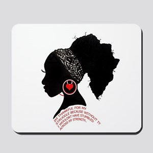 A QUEN BEAUTIFUL STRUGGLE Mousepad