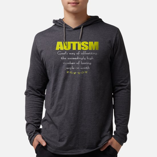 Autism cancels boredom Long Sleeve T-Shirt