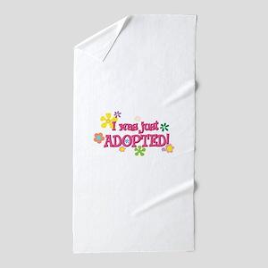 JUSTADOPTED44 Beach Towel