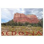 Sedona Redrock Poster