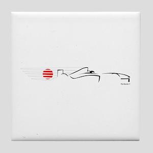 Formula 1 Japan Tile Coaster