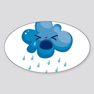 Raining cry Sticker
