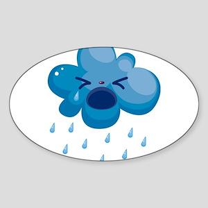 Raining cry Sticker