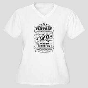 Vintage Aged To Perfection 1943 Plus Size T-Shirt