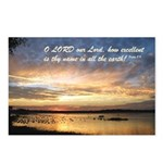 Psalm 8:9 Postcards (Package of 8)
