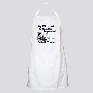 Whippet Agility BBQ Apron