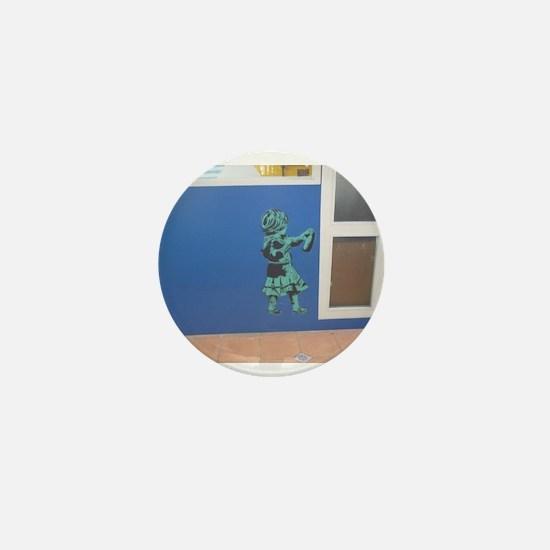 Spray Paint Mini Button