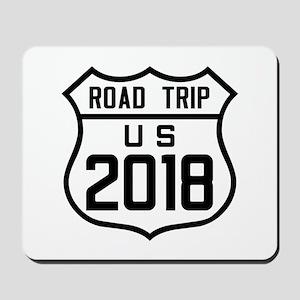 Road Trip US 2018 Mousepad