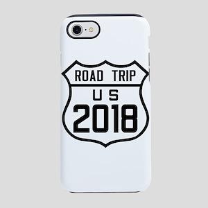 Road Trip US 2018 iPhone 7 Tough Case