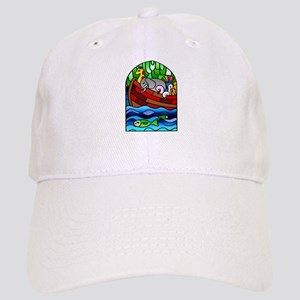 Noah's Ark Stained Glass Cap