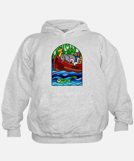 Noah's Ark Stained Glass Hoodie