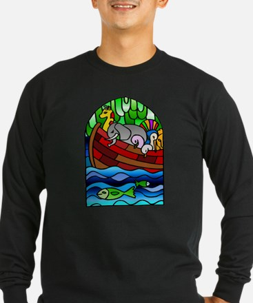Noah's Ark Stained Glass T