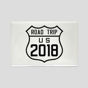 Road Trip US 2018 Magnets