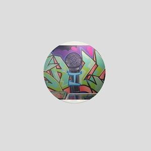 Hip Hop graffiti Mini Button