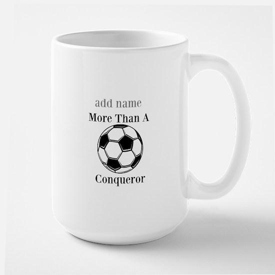 Personalized Soccer-Conqueror Mugs