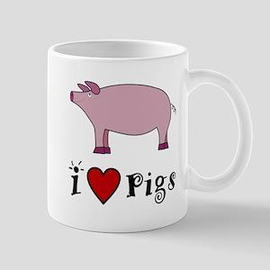 Pig Mug: I love Pigs