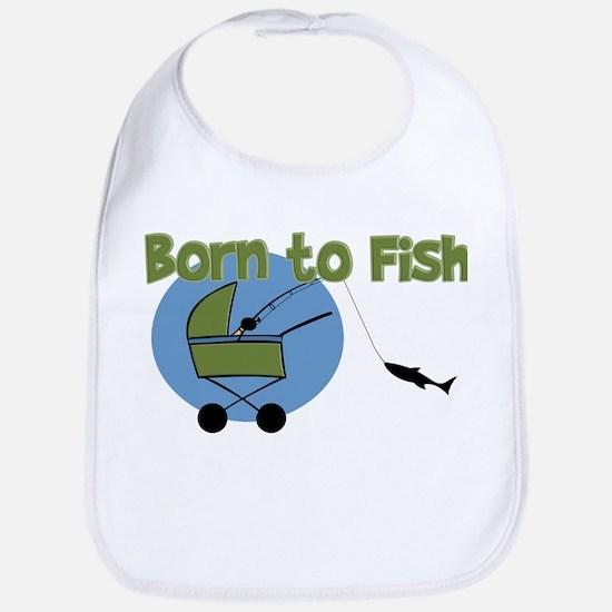 Born To Fish Bib