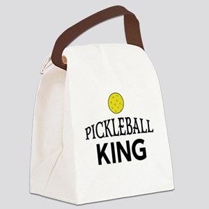 Pickleball King Canvas Lunch Bag