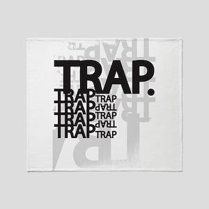 Trap Throw Blanket