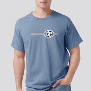Soccer Ball And Stripes T-Shirt