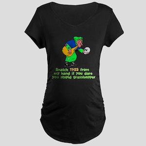 Halloween Witch Maternity Dark T-Shirt