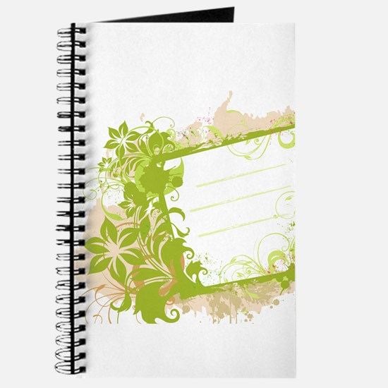 floral print cover Journal