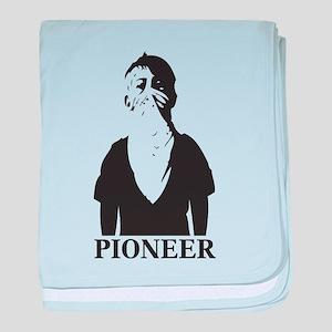 Pioneer baby blanket