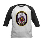 USS BARRY Kids Baseball Jersey