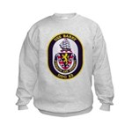 USS BARRY Kids Sweatshirt