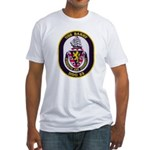 USS BARRY Fitted T-Shirt