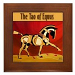 The Tao of Equus Framed Tile