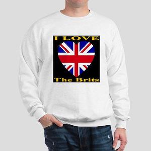 I Love The Brits Sweatshirt