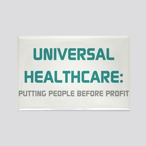 Universal Healthcare Rectangle Magnet