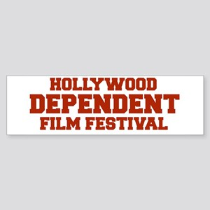 DEPENDENT FILM FESTIVAL bumper sticker