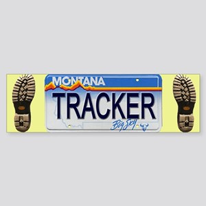 Montana Tracker Bumper Sticker