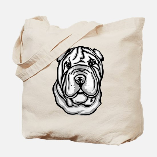 Toy Chinese Shar Pei Tote Bag
