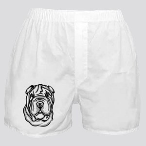 Toy Chinese Shar Pei Boxer Shorts